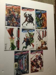 Justice League Vs Suicide Squad Rebirth 1 2 3 Plus Variant 8 Total Near Mint IK