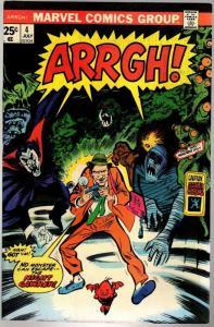 ARRGH! (1974) 4 VG+  July 1975