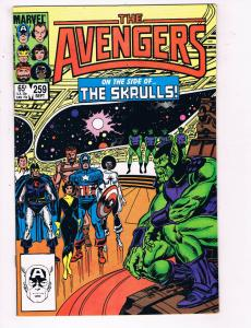 The Avengers #259 VF Marvel Comics Comic Book Sept 1985 DE24