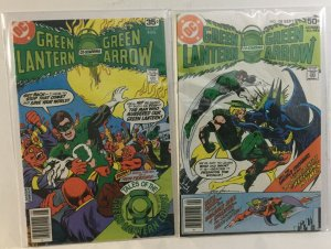 Green Lantern 107 108 Fn/Vf Fine/Very Fine 7.0 DC Comics
