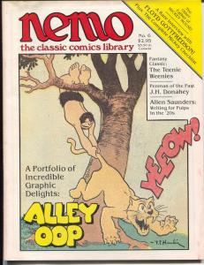 Nemo The Classic Comics Librery #6 1984-Mickey Mouse-Alley Oop-FN/VF