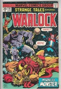 Strange Tales #181 (Aug-75) VF/NM High-Grade Adam Warlock