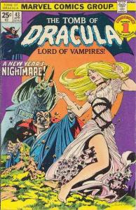 Tomb of Dracula (1972 series) #43, VF- (Stock photo)