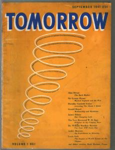 Tomorrow #1 9/1941-1st issue-Children Of The New Age-ESP-FN-