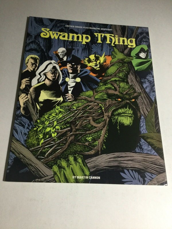 Critics Choice Files Magazine Spotlight Swamp Thing Green Mansions Nm Near Mint