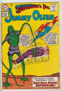 Jimmy Olsen, Superman's Pal  #57 (Dec-61) FN/VF+ High-Grade Jimmy Olsen