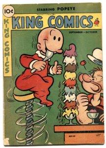 King Comics #148 1948- Popeye ice cream cover VG