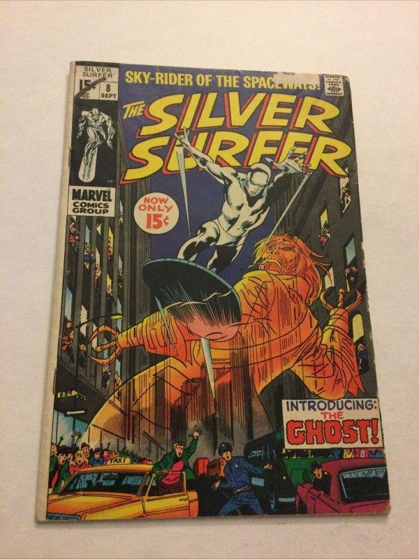 Silver Surfer 8 Gd Good 2.0 Marvel Comics