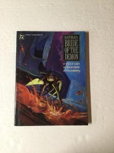 Batman Bride Of The Demon Hc Hardcover Nm Near Mint Oversize