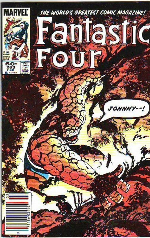 Fantastic Four #263 (Feb-84) NM- High-Grade Fantastic Four, Mr. Fantastic (Re...