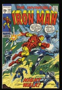 Iron Man #40 VF- 7.5 Marvel Comics