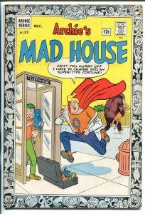 ARCHIE'S MAD HOUSE #37 1964-CAPTAIN SPROCKET-SABRINA-SCI-FI-HORROR-fn minus