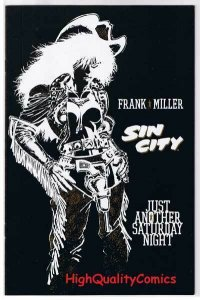 SIN CITY JUST A SATURDAY NIGHT, VF+, Frank Miller, 1998,more FM and SC in store