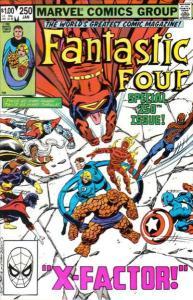 Fantastic Four (1961 series) #250, VF+ (Stock photo)
