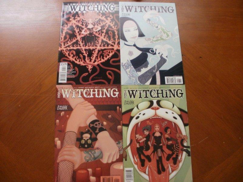 4 Near-Mint Vertigo Comic: THE WITCHING #7 8 9 10 (2005) Vankin (Mature Reader)