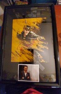 Loki autographed photo (Tom Hiddleston)