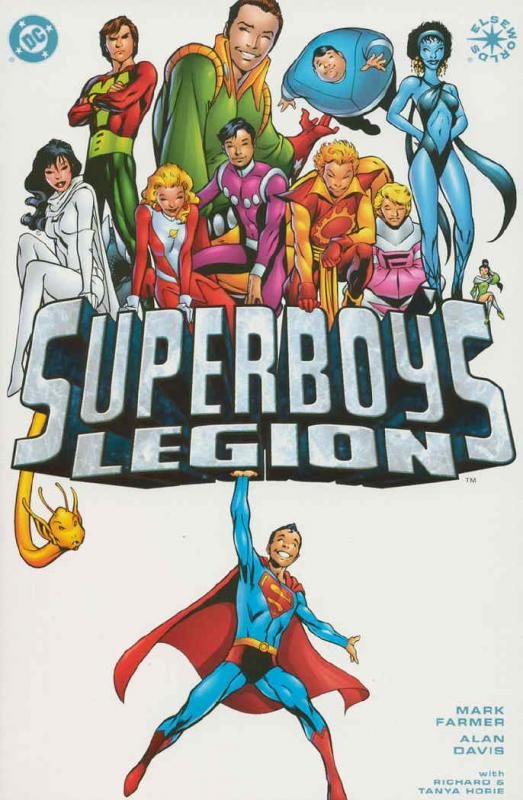 SUPERBOYS LEGION (2001) 1-2  Elseworlds story