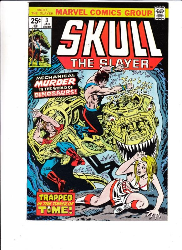 Skull #3 (Jan-71) NM- High-Grade Horrible Harvey, the Leather Nun