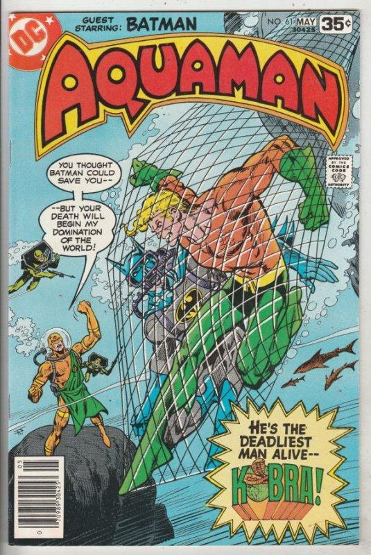Aquaman #61 (May-78) NM- High-Grade Aquaman, Aqualad, Mira