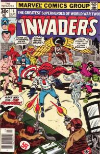 Invaders (1975 series) #14, Fine (Stock photo)
