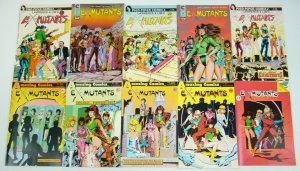 Ex-Mutants #1-8 VF/NM complete series + annual + erin + pin-up book + (3) more