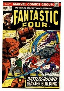 FANTASTIC FOUR #130 comic book-1973-Invisible Girl VF/NM