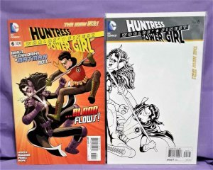 DC New 52 WORLDS' FINEST #6 1:25 Sketch Variant Cover Kevin Maguire (DC, 2012)!