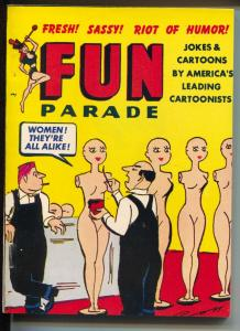 Fun Parade Annual 1950's-2 unsold copies rebound-cartoons-comic strips-NM