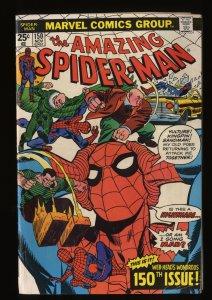 Amazing Spider-Man #150  Kingpin! Marvel Comics Spiderman