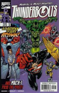 Thunderbolts #23 FN; Marvel   save on shipping - details inside