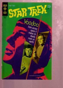 STAR TREK #7 1970- THE VOODOO PLANET-MR SPOCK PHOTO CVR FN-