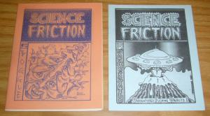 Science Friction #1-2 VF/NM complete series - underground comix - only 300 rare!