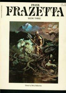 FRANK FRAZETTA-BOOK #3-1978-BANTAM-COLOR + B&W ILLOS-BURROUGHS-CO FN/VF