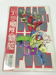 Deadpool Circle Chase 1-4 set Avg. grade NM