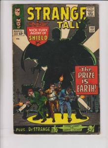 Strange Tales #137 VG nick fury - doctor strange - stan lee - steve ditko kirby
