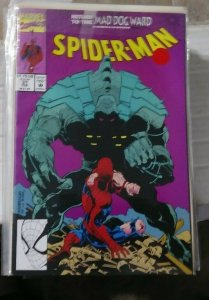 SPIDER-MAN # 31 MARVEL 1993  mad dog ward