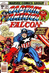 Marvel Comics Captain America #214 Kirby Art NM