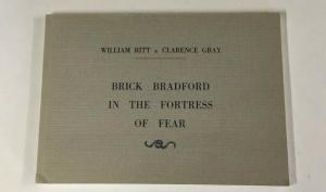 BRICK BRADFORD IN THE FORTRESS OF FEAR WILLIAM RITT CLARENCE GRAY B23 Near Mint