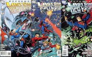 SUPERMAN LAST STAND OF NEW KRYPTON (2010) 1-3