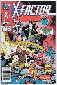 X-Factor   vol. 1   #  8 FN Louise Simonson/Silvestri, Spider-Woman