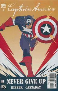 Captain America (4th Series) #4 VF/NM; Marvel | save on shipping - details insid