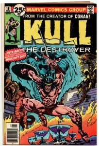Kull the Destroyer #16 (Marvel, 1976) FN