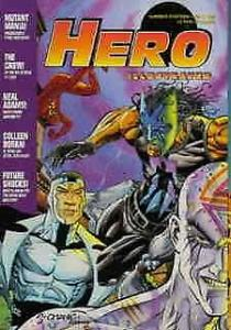 Hero Illustrated #13 FN; Warrior | save on shipping - details inside
