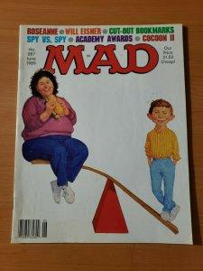 Mad Magazine #287 ~ VERY FINE - NEAR MINT NM ~ JUNE 1989