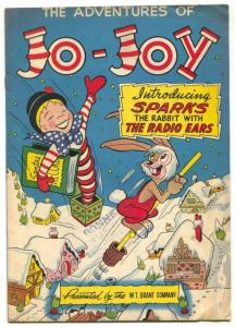 Adventures of Jo-Joy 1948- Santa Claus- Intro Sparks the Rabbit VG-