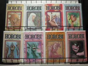 HOROBI (1990 VIZ) 1-8  Yoshihisa Tagami Manga classic