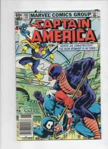 CAPTAIN AMERICA #281 282, VG/FN,  Nomad Bucky Viper, 1968 1983, 2 issues