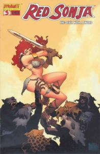 Red Sonja (Dynamite) #5C VF/NM; Dynamite | save on shipping - details inside