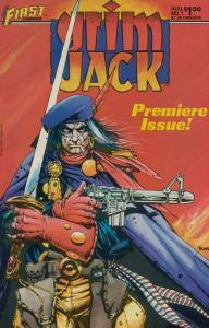 GRIMJACK 25-Different, Indie Comic's BAD BOY!,