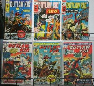 Outlaw Kid (Marvel 1970) #4, 6, 8, 14, 20, 23 Western Cowboy Lot Doug Wildley